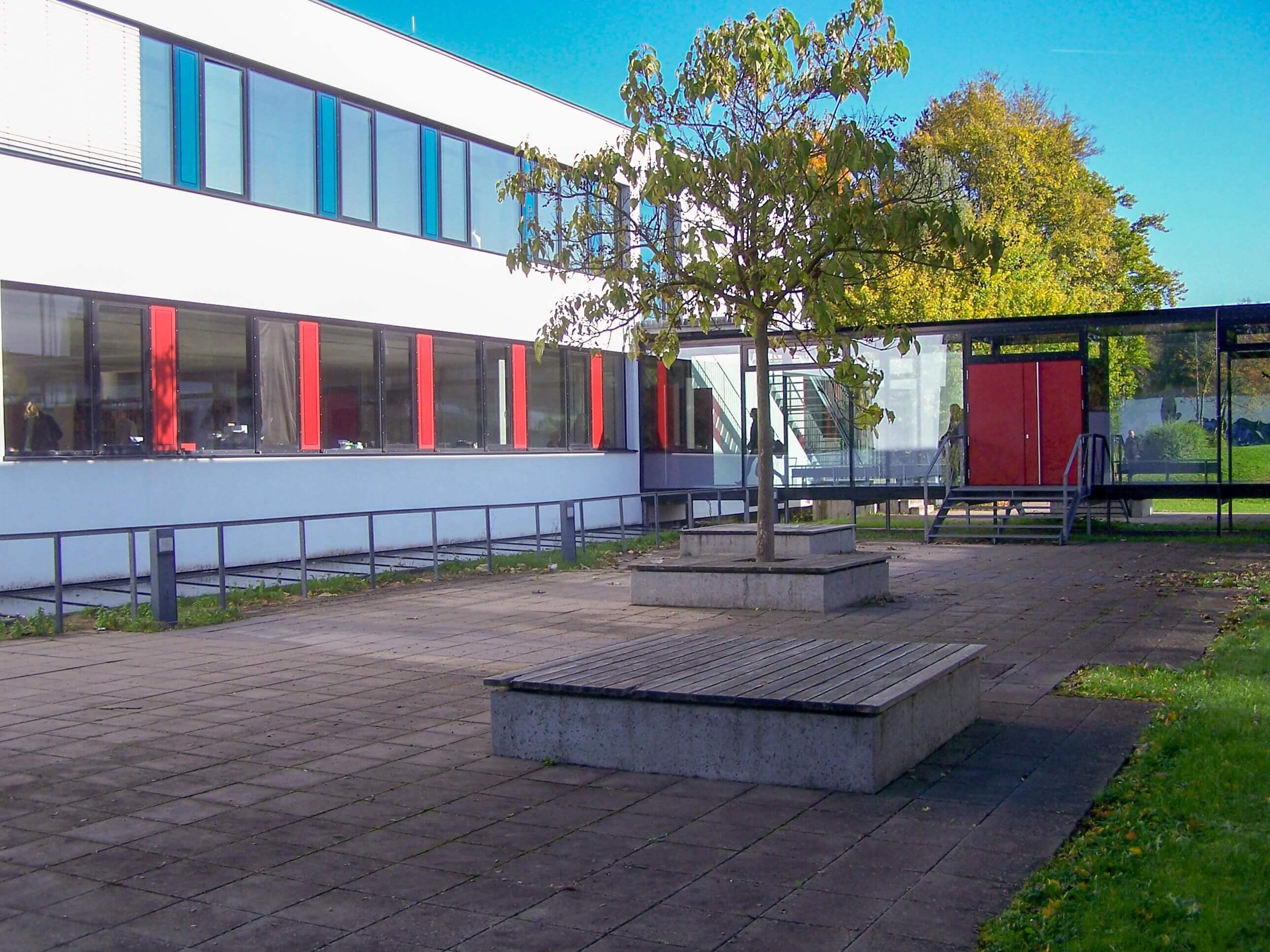 Bild vom inneren Schulhof