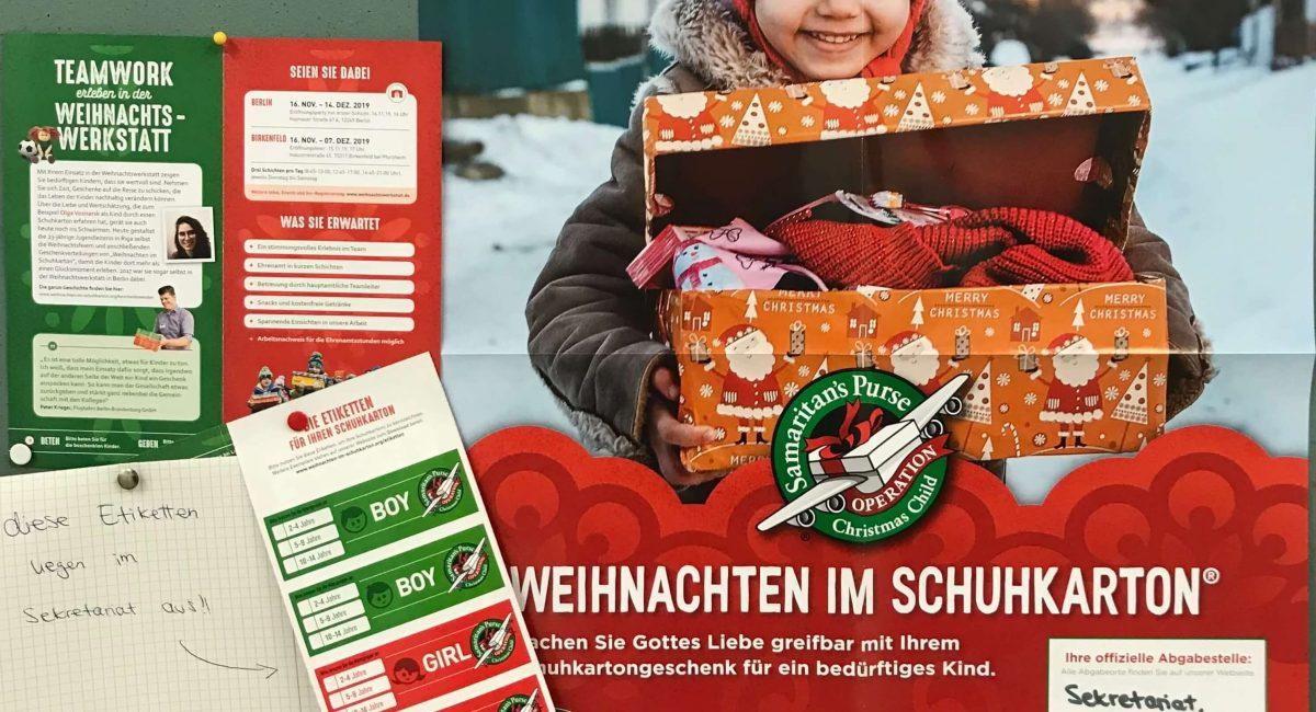 Weihnachten Im Schuhkarton Alternative
